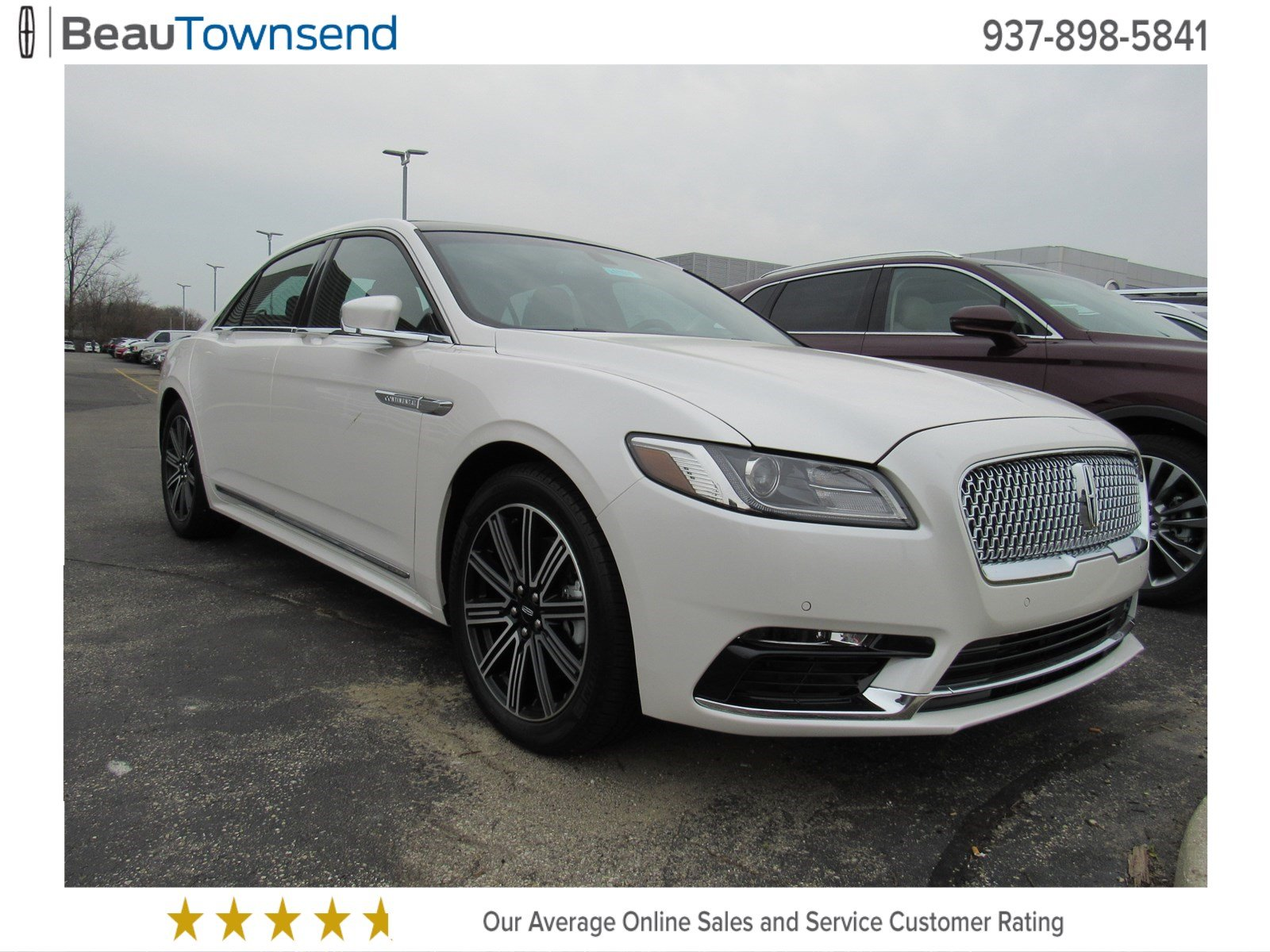 new 2017 lincoln continental reserve 4dr car in vandalia l171030 beau townsend ford lincoln. Black Bedroom Furniture Sets. Home Design Ideas