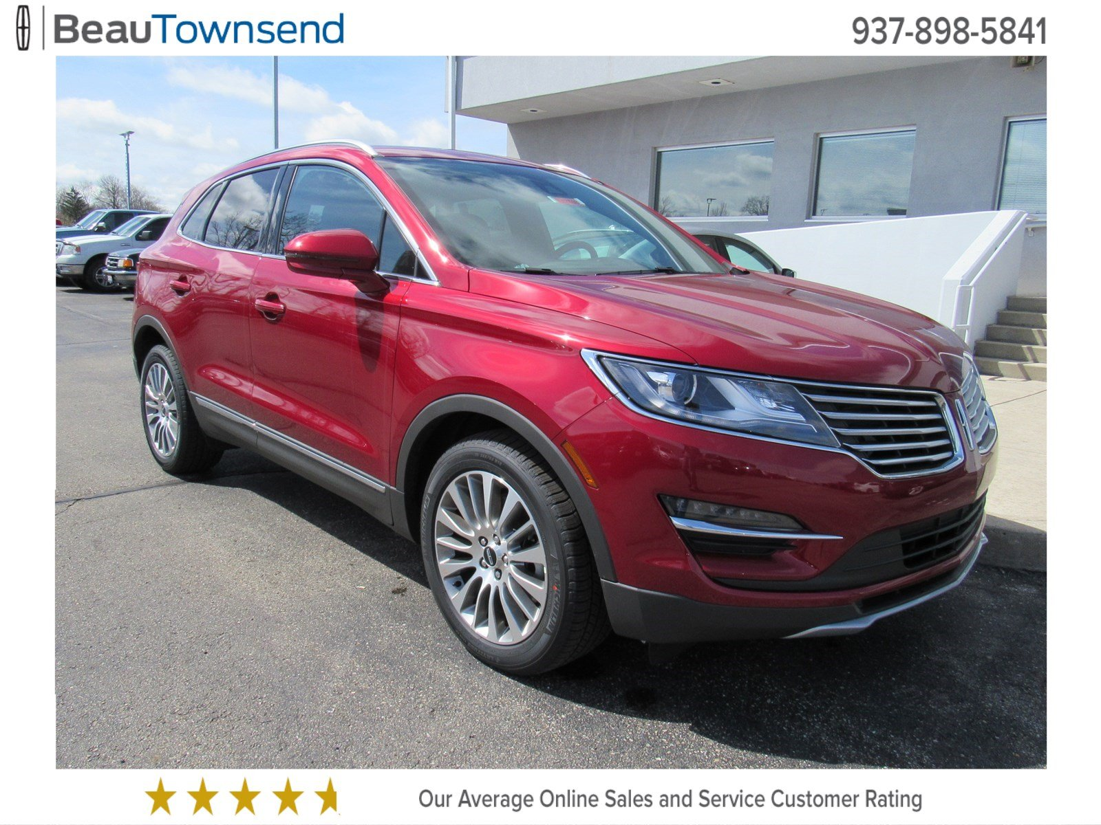 new 2017 lincoln mkc reserve sport utility in vandalia l17t083 beau townsend ford lincoln. Black Bedroom Furniture Sets. Home Design Ideas